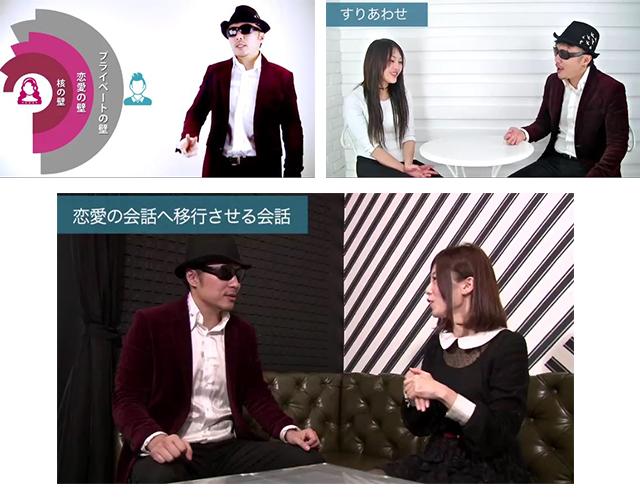新モテ会話マスタープログラムのセミナー&実演動画のキャプチャSTEP4